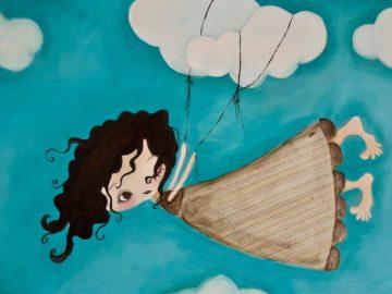 Լեոնիդ Ենգիբարյան Թռչող աղջկան