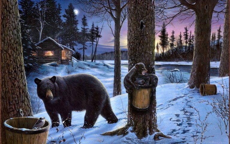 Հեքիաթ արջի քոթոթն ու անտառապահը