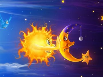 հեքիաթ արևի ու լուսնի մասին