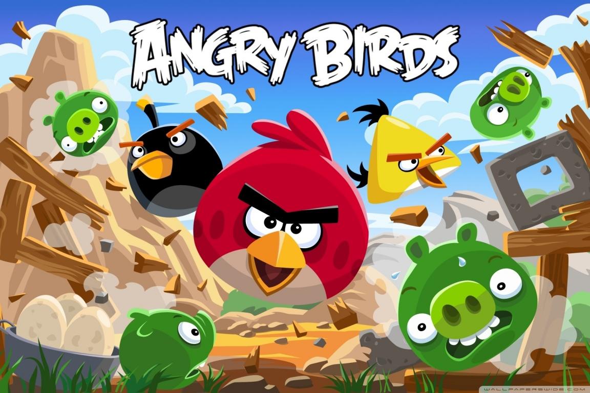 ՀԱՆՐԱՀԱՅՏ ANGRY BIRDS ԽԱՂԸ