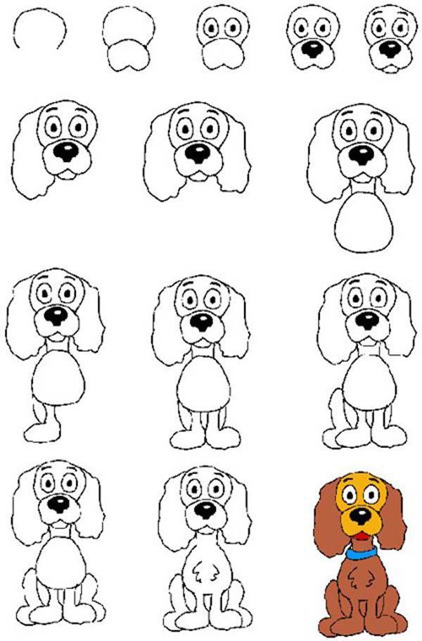 Ինչպես նկարել շուն