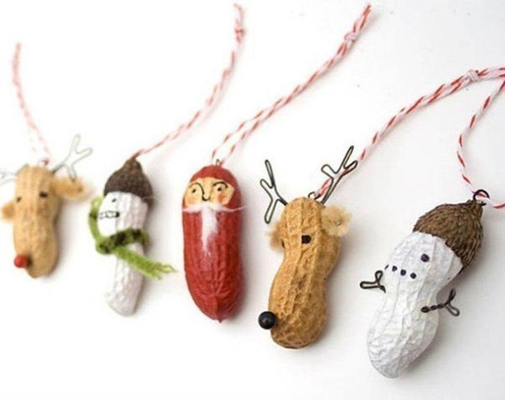 տոնածառի hand made խաղալիքներ