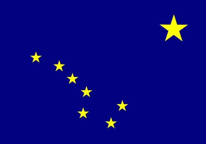 Ալյասկայի դրոշը