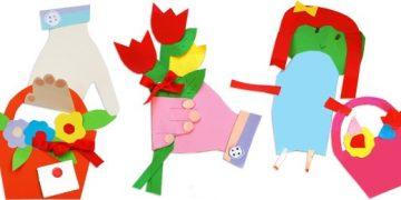 Ծաղիկներով զամբյուղ՝ մեր ձեռքերում