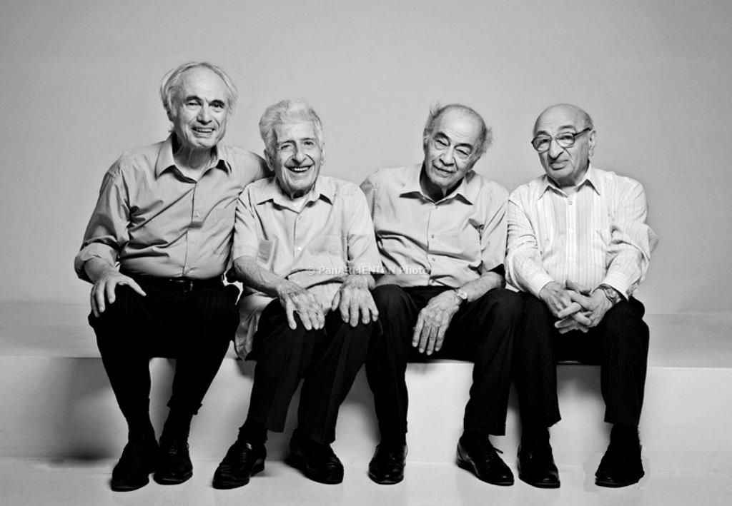 Ձախից` Տիգրան Մանսուրյան, Էդվարդ Միրզոյան, Վլադիլեն Բալյան, Ստեփան Շաքարյան