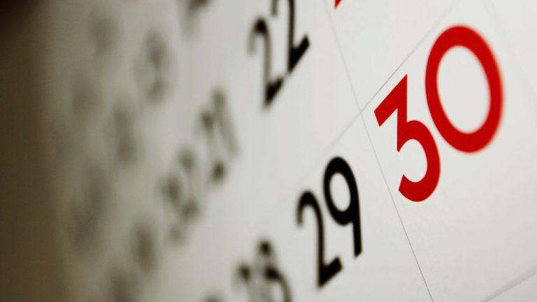Սեպտեմբերի 30-ի տոները