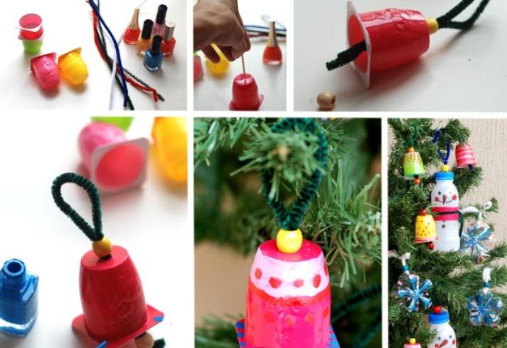 Ամանորյա handmade խաղալիքներ