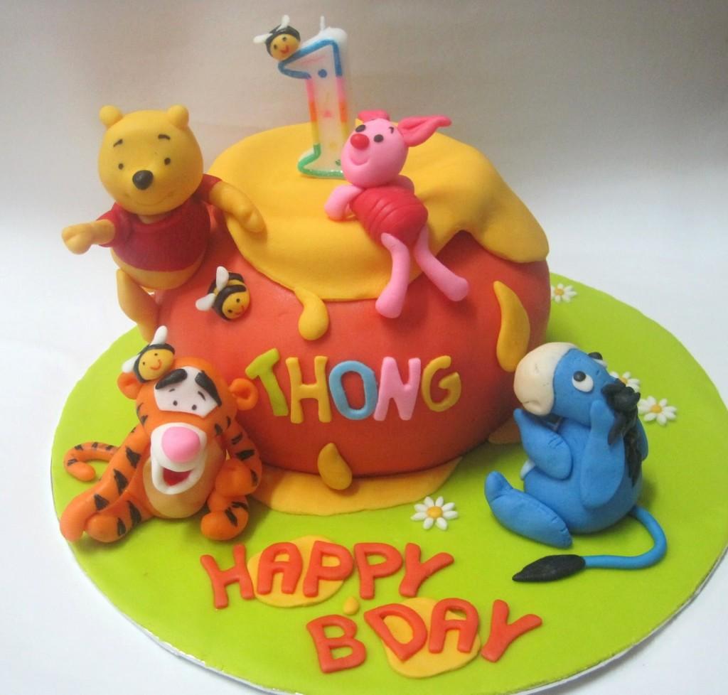 Cartoon cakes (2)