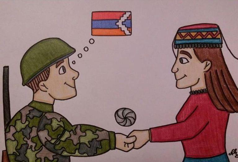 Բանաստեղծություններ հայ զինվորի մասին